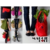 NEW Big Large Size Foldable Reusable Eco friendly shopping carry tote bags[Dark Red]